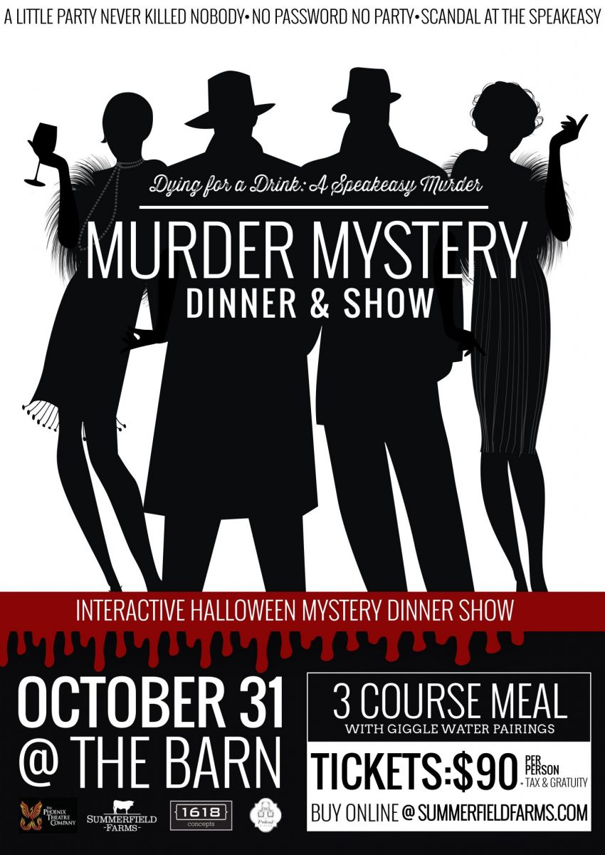 mystery dinner & show - summerfield farms